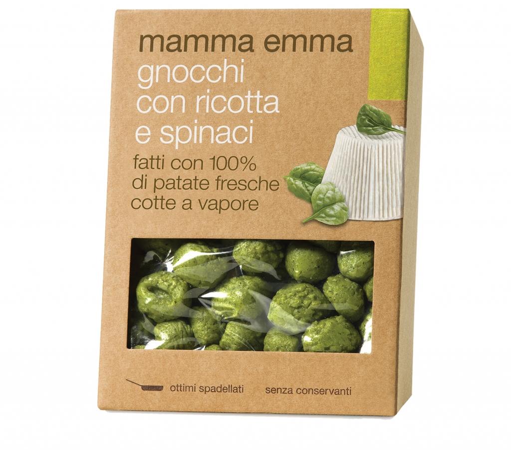 Gnocchi con Spinaci Mamma Emma