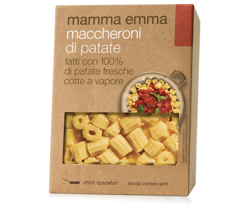 Maccheroni di patate Mamma Emma