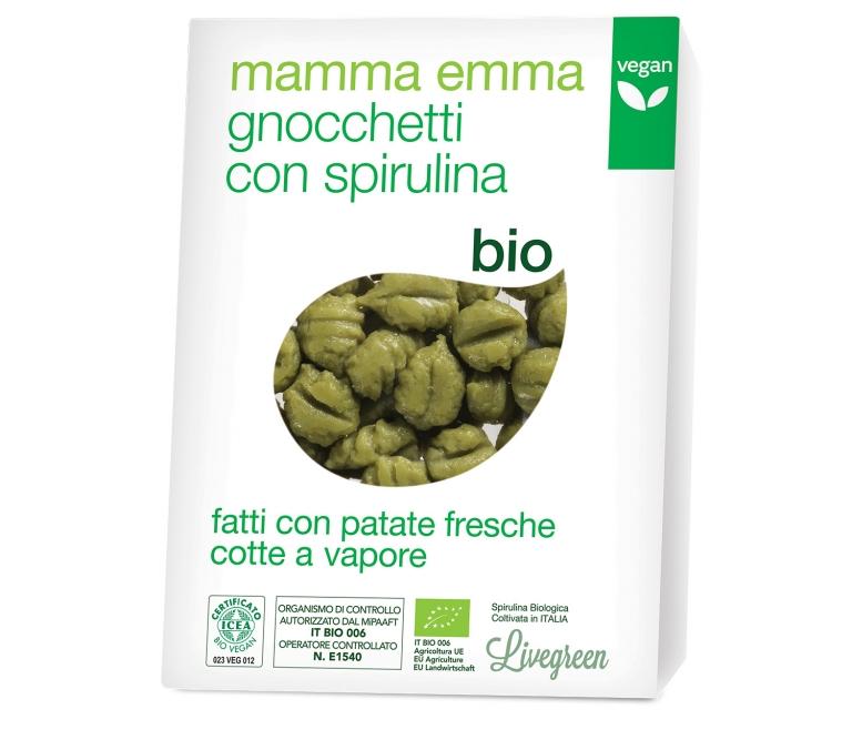 Gnocchi Bio Spirulina Mamma Emma