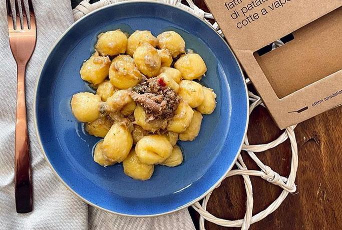 Gnocchi Aringa